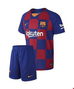 کیت اول بارسلونا به همراه شورت 2019/2020