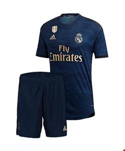 کیت دوم رئال مادرید به همراه شورت  2019/2020